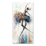Jazzy and Glamour Wall Art Print