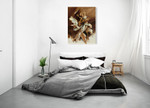 Love the Feeling of Freedom Wall Art Print on the wall