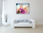 The Dancer on the Branch Wall Art Print on the wall