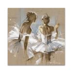 White Dress II Wall Art Print