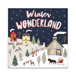 Christmas Village III Wall Art Print
