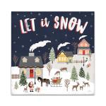 Christmas Village IV Wall Art Print