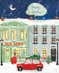 Hometown Holiday III Wall Art Print