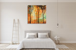 Magical Forest II Wall Art Print on the wall