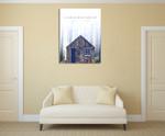 Tiny Home Sentiments V Wall Art Print on the wall