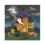 Spooky Shanty Wall Art Print