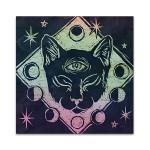 Mystical Halloween Jewel IV Wall Art Print