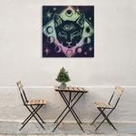 Mystical Halloween Jewel IV Wall Art Print on the wall
