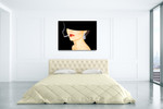 Chic Lady I Wall Art Print on the wall
