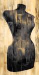 Dress Form Recolor Wall Art Print