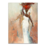 Silhouettes Africaines I Wall Art Print