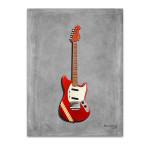 Fender Mustang Wall Art Print