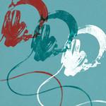 Headphones B Wall Art Print