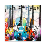 Variation for Violin II Wall Art Print
