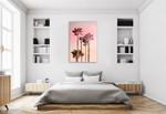 Pink Sunset I Wall Art Print on the wall