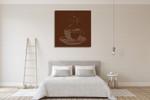 Coffee Talk II Wall Art Print on the wall