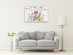 Paws of Love I Wall Art Print on the wall