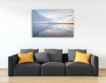 Bellingham Bay Clouds Reflection II Wall Art Print  on the wall