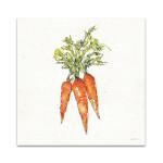 Veggie Market Carrots V Wall Art Print