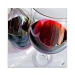 Wine on Glass Wall Art Print
