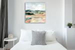 Vermillion Landscape I Wall Art Print on the wall