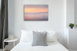 Whitefish Point Sky Wall Art Print on the wall