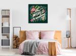 Jungle Love I Wall Art Print on the wall