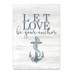 Let Love Hope I Wall Art Print