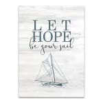 Let Love Hope II Wall Art Print
