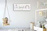 Magical Friends V Wall Art Print on the wall