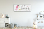 Magical Friends VII Wall Art Print on the wall