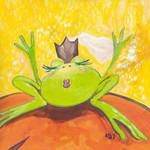 The Frog II Wall Art Print