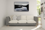 Calm River II Wall Art Print on the wall