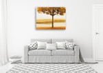 Golden Morning I Wall Art Print on the wall