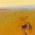Meadow in Warm Colors Wall Art Print
