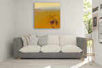 Meadow in Warm Colors Wall Art Print on the wall