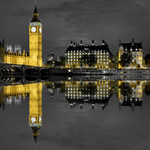 Big Ben Reflection Wall Art Print