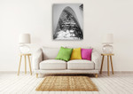 The London Gherkin at Night Wall Art Print on the wall