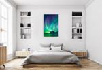 Aurora Borealis II Wall Art Print on the wall