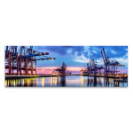 Hamburg Harbour Wall Art Print