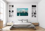 New York Statue of Liberty Wall Art Print on the wall