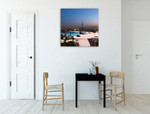 Beautiful View of New York Wall Art Print on the wall