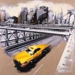 New York Brooklyn Bridge Wall Art Print