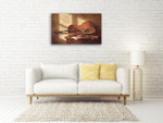Musical Instruments Wall Art Print on the wall