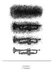 Trumpet Wall Art Print