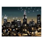 New York Night Wall Art Print