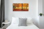 Autumn Impression Wall Art Print on the wall