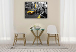 Welcome to New York Wall Art Print on the wall