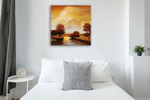 Majestic Morning I Wall Art Print on the wall