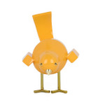 Poly Resin Small Yellow Bird A Statue